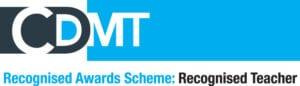 CDMT Recognised Teacher Logo